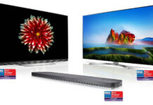 LG's Innovative Home Entertainment Products Take Prestigious Awards