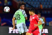 Nigeria, Tunisia Friendly Match end in 1-1 Draw