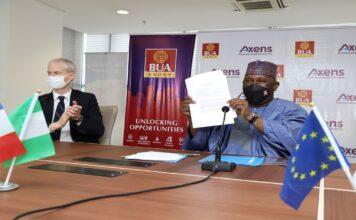 President Macron lauds Abdul Samad Rabiu as BUA, Axens make progress on BUA's 200,000bpd Refinery in Akwa Ibom