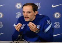 Chelsea FC's manager Thomas Tuchel rallied the club's bit-